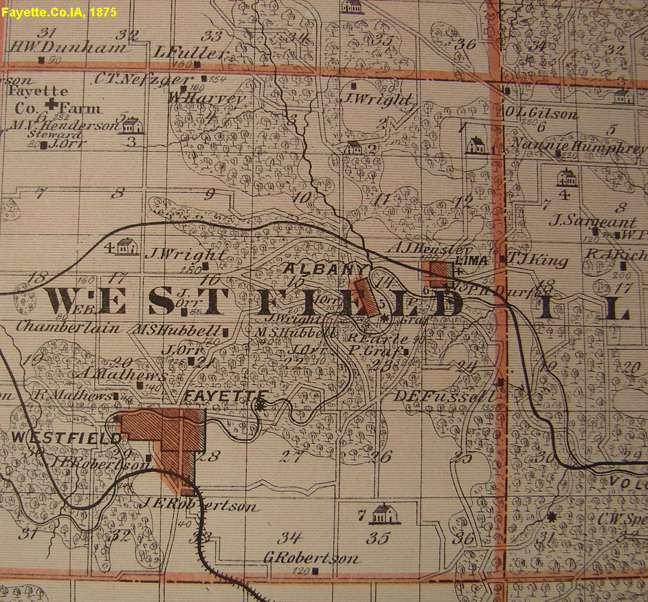Plat Maps Plats often show collateral surnames